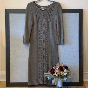 Taupe Sweater Dress